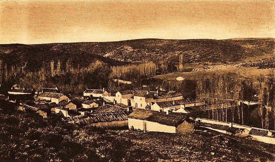 Vista general de Ruidera en 1930
