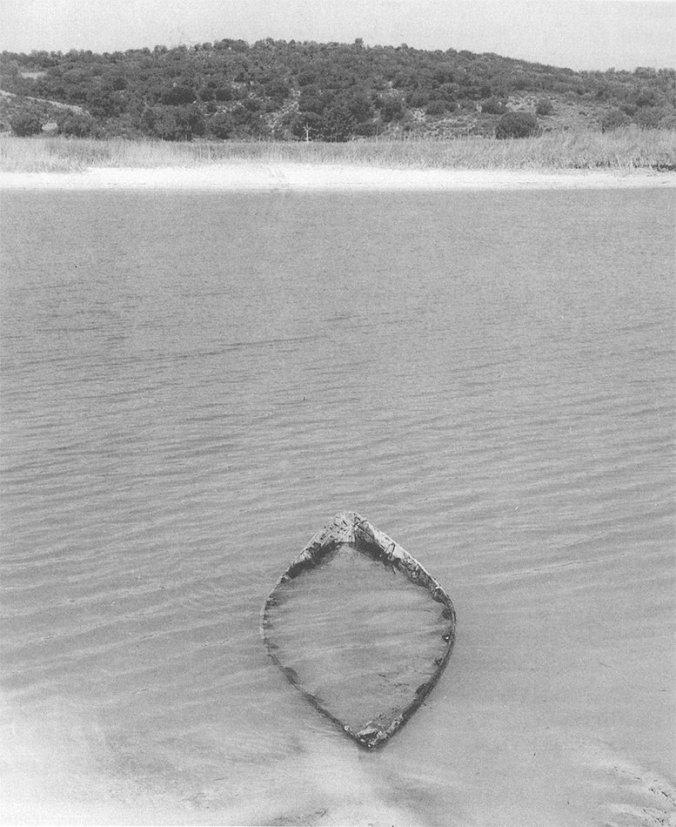 Barca de un antiguo pescador de las Lagunas de Ruidera