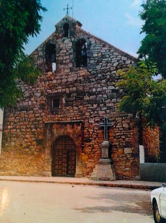 Iglesia de Santa María Magdalena de Ossa de Montiel. Años 60 del siglo XX.