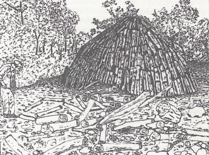 Montaje de una carbonera