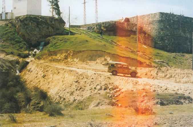 Central hidroeléctrica de San Alberto en la segunda mitad del siglo XX
