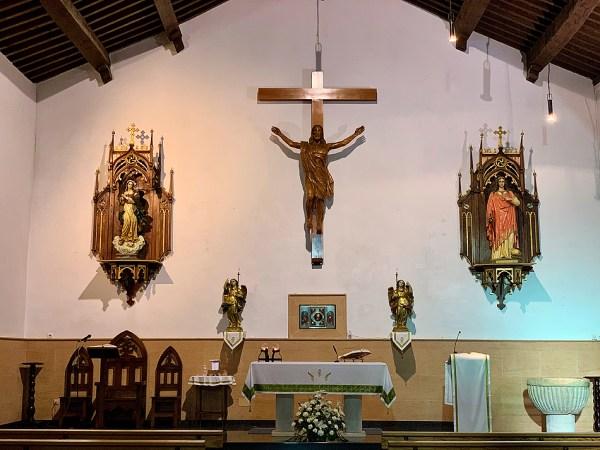 Altar iglesia de Ossa de Montiel