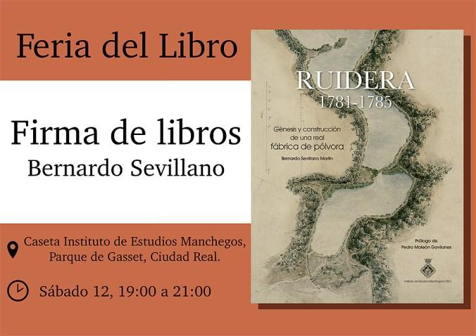Firma libro Ruidera 1781-1785