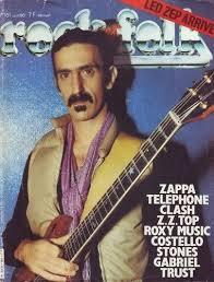 Frank Zappa - Rock & Folk Magazine Cover France (June 1980)