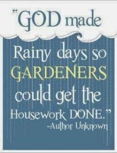 god and rain