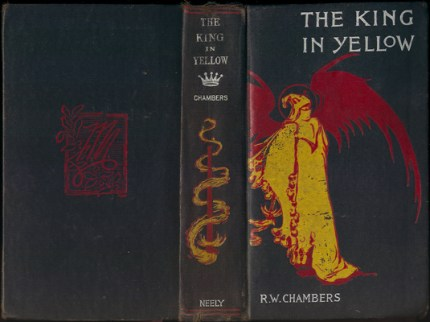 "Cover of the 1895 edition of ""The King in Yellow"", which includes this story. (Image via Wikipedia)"
