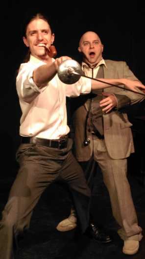 Detective and Doctor - Rose Theatre Co production