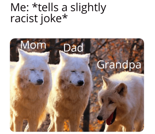 These White Wolves Laughing Memes Are Taking Over 20 Pics