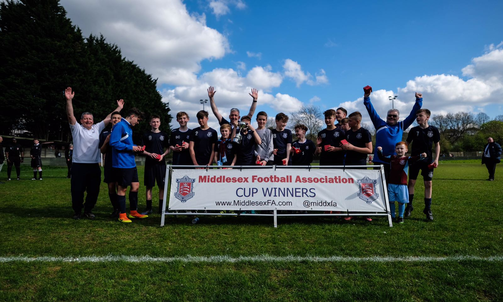 Our Under 14A's County Cup win in pictures and video