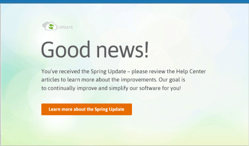 Infusionsoft Spring Update