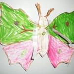 Бабочка на быструю руку