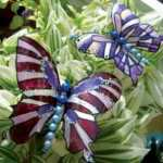 Бабочка из пластиковой бутылки