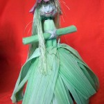Кукла из кукурузы