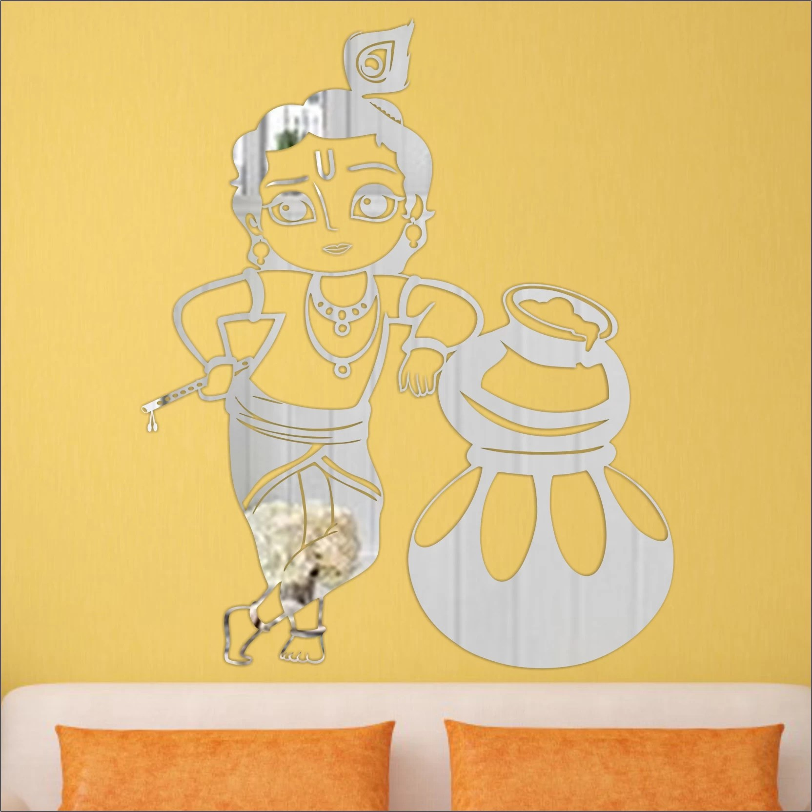 Look Decor Extra Large Look Decor Makhanchor Silver