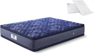 Peps Springkoil Pillow Top Blue 6 Inch King Bonnell Spring Mattress