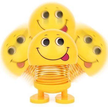 Bhani 4 Pcs Smiling Face Spring Doll Car Dashboard Spring Doll 4 Pcs Smiling Face Spring Doll Car Dashboard Spring Doll Buy Smiling Spring Doll Toys In India Shop For