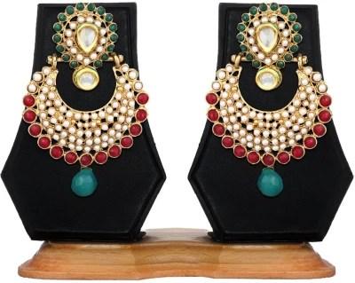 Zaveri Pearls Classic Zinc Chandbali Earring