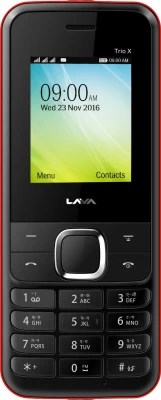 Lava KKT TRIO X(Black & Red)