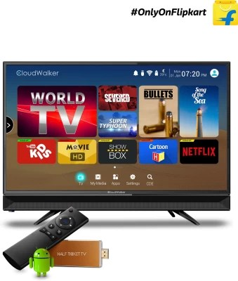 CloudWalker Cloud TV 60cm (23.6) HD Ready LED TV(CLOUD TV24AH)