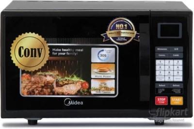 Carrier Midea 20 L Convection Microwave Oven(ES820EJV-S, Black)