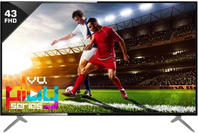 Vu 109cm (43) Full HD LED TV(43D6545)