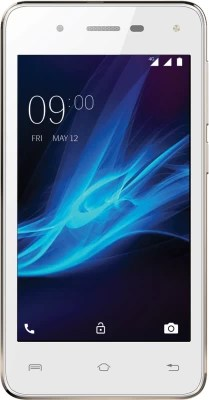 Lava A44 4G with VoLTE (White & Gold, 8 GB)(1 GB RAM)