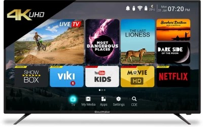 CloudWalker Cloud TV 165cm (65) Ultra HD (4K) LED Smart TV(CLOUD TV 65SU)