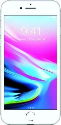 Apple iPhone 8 (Silver, 64 GB)