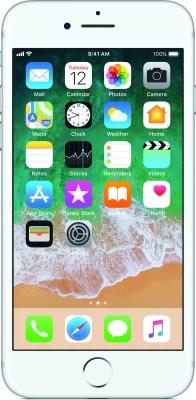 Apple iPhone 7 (Silver, 256 GB)
