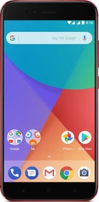 Mi A1 (Red, 64 GB)(4 GB RAM)