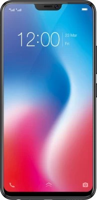 Vivo V9 (Pearl Black, 64 GB)(4 GB RAM)