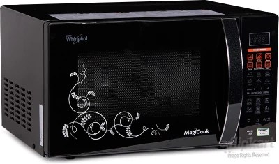 Whirlpool 20 L Convection Microwave Oven(Magicook 20L Elite-Black (New), Black)