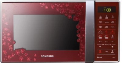 Samsung 21 L Convection Microwave Oven(CE74JD-CR/XTL, Orcherry Red)