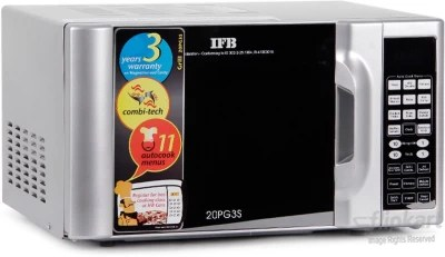 IFB 20 L Grill Microwave Oven(20PG3S, Silver)