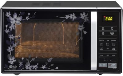 LG 21 L Convection Microwave Oven(MC2144CP, Black)