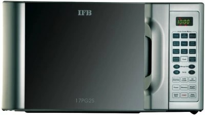 IFB 17 L Grill Microwave Oven(17PG2S, Silver)