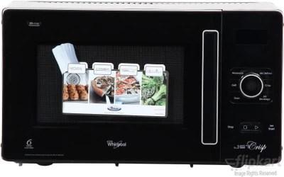 Whirlpool 25 L Convection Microwave Oven(GT-288 (25 L Jet Crisp), Black)