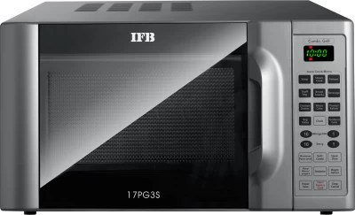IFB 17 L Grill Microwave Oven(17PG3S, Metallic Silver)