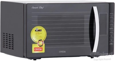 Onida 23 L Convection Microwave Oven(Smart Chef MO23CWS11S, Black)