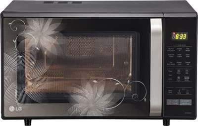 LG 28 L Convection Microwave Oven(MC2846BCT, Black)
