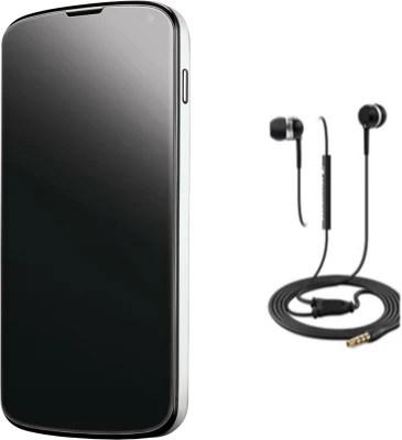 Nexus4 (E960) (White, 16 GB)(2 GB RAM)