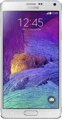 Samsung Galaxy Note 4 (Frost White, 32 GB)(3 GB RAM)