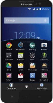 Panasonic Eluga S (Black, 8 GB)(1 GB RAM)