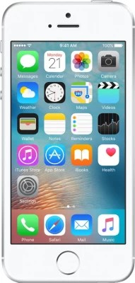 Apple iPhone SE (Silver, 64 GB)