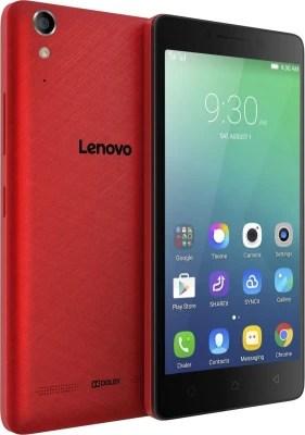 Lenovo A6000 Shot (Red, 16 GB)(2 GB RAM)