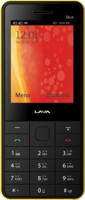 Lava KKT Star(Black & Yellow)