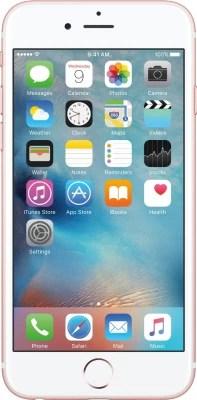 Apple iPhone 6s (Rose Gold, 16 GB)