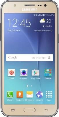 Samsung Galaxy J5 (Gold, 8 GB)(1.5 GB RAM)