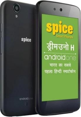 Spice Dream UNO Mi-498H(Android One) (Black, 4 GB)(1 GB RAM)