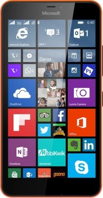 Microsoft Lumia 640 XL (Bright Orange, 8 GB)(1 GB RAM)